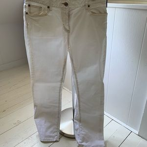 Boden offwhite straight jeans size 12 (UK)